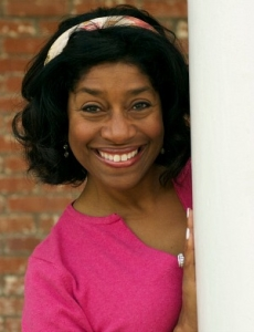 Valerie smiling